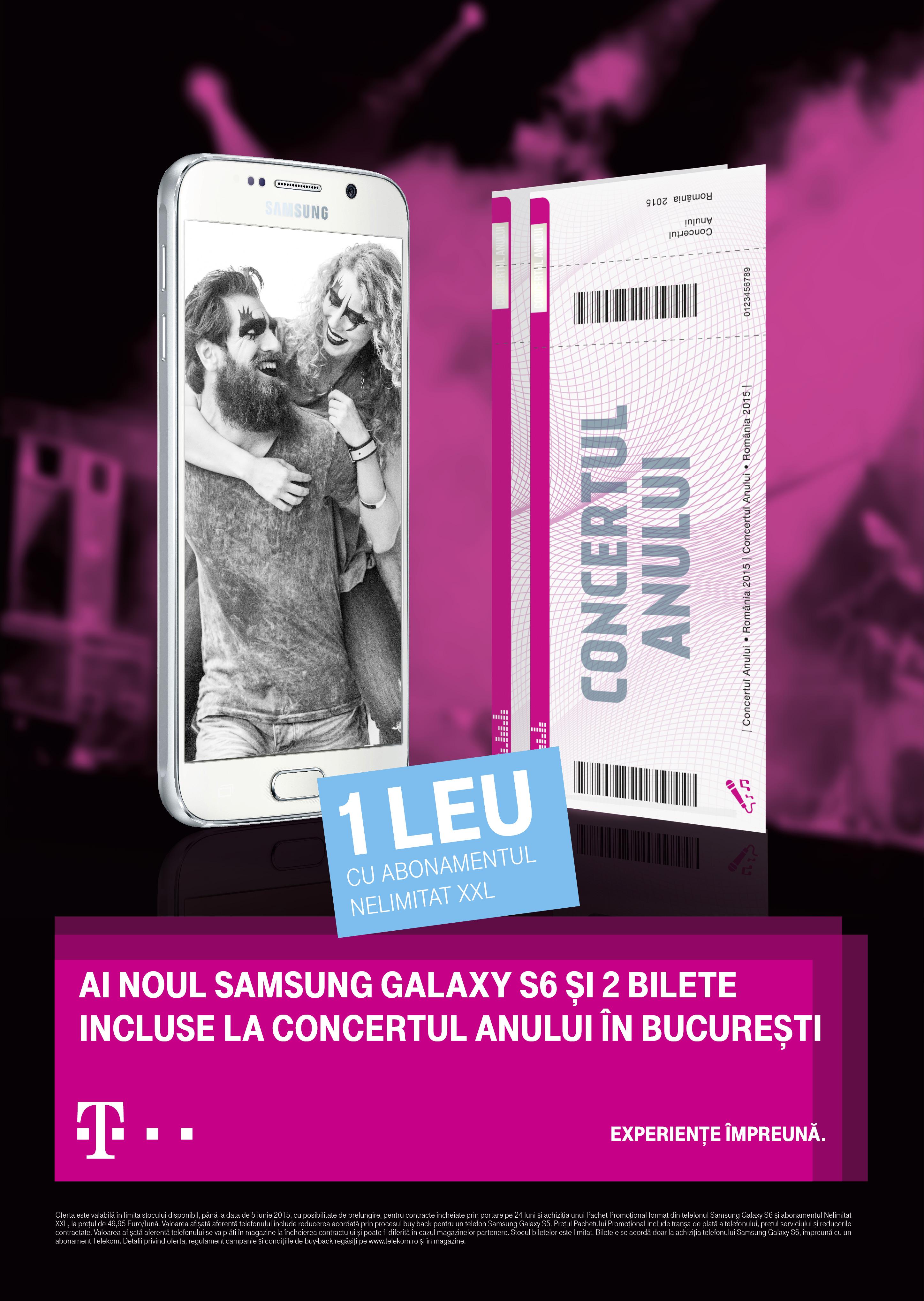 Telekom Romania_Samsung Galaxy S6_concertul anului